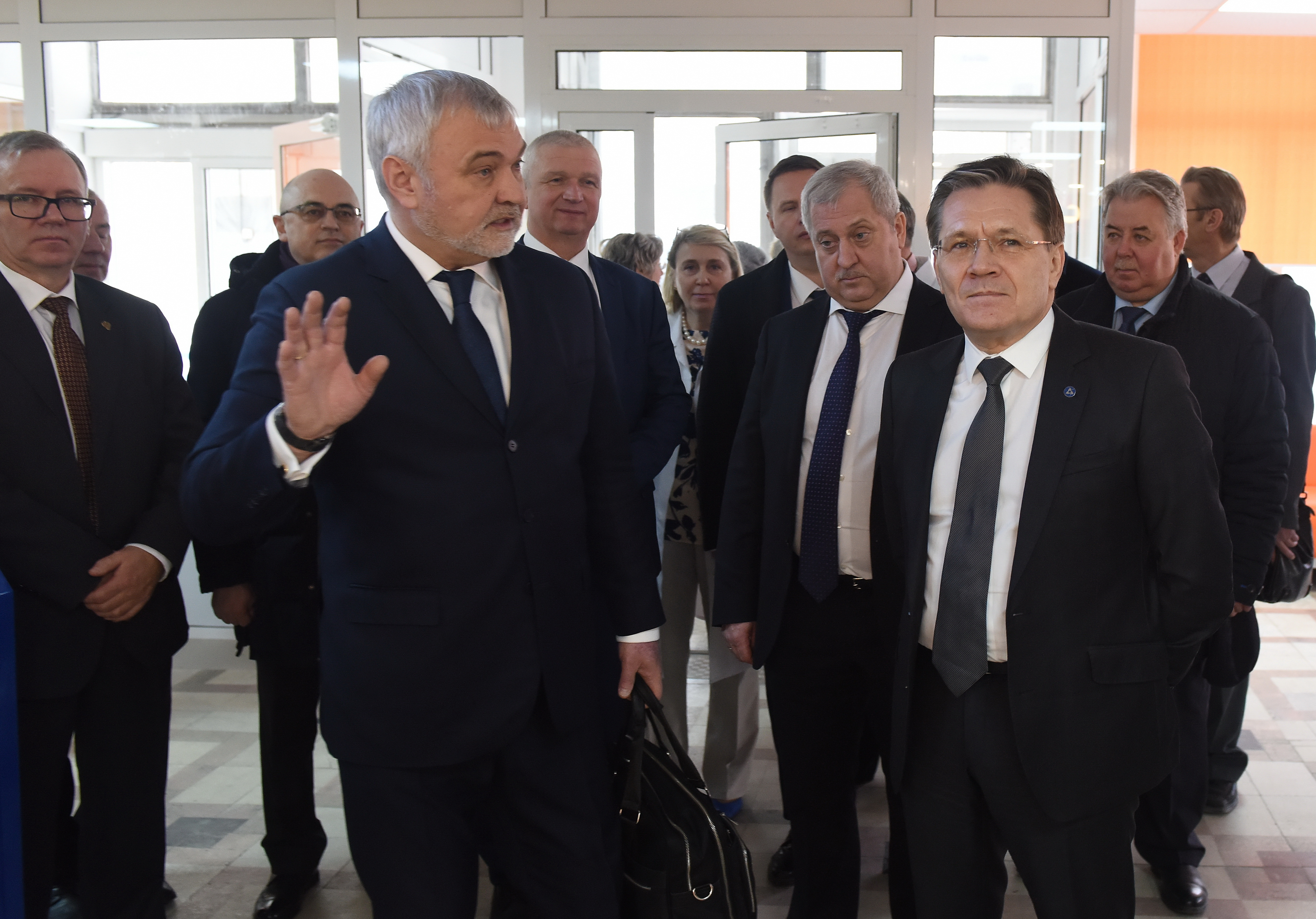 """Mayak"" was visited by Director General of Rosatom Alexander Likhachev"
